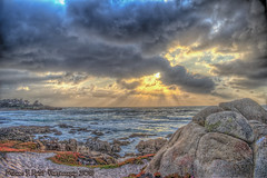 Another Perfect Sunset (Michael F. Nyiri) Tags: pebblebeach montereyca clouds sky sea ocean pacificocean sunset colorful