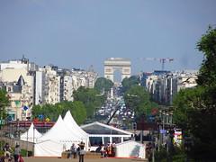 Arc de Triomphe from La Defense (Taking5) Tags: france paris ladefense holiday arcdetriomphe
