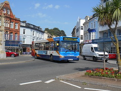 Stagecoach South West 34612 (Welsh Bus 18) Tags: stagecoach southwest transbus dart slf pointer 2 34612 nk04npy torquay strand b38f northeast