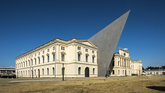 Museum with a huge nose :) (stefanfricke) Tags: museum dresden saxony sachsen nose architecture city sony ilce7rm2 sel1635z daniellibeskind