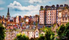 The Beautiful Edinburgh Cityscape (Digital Lady Syd) Tags: edinburgh scotland cityscape aurorahdr