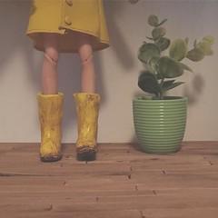 Rainy Day Preview (HaleighCreatesKawaii) Tags: blythe doll basaak kawaii miniatures diorama