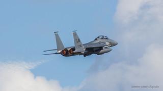 F-15E taking off