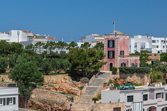 The Red House (Mac ind Óg) Tags: islasbaleares summer spain minorca balearicislands ciutadella stairway walking menorca españa building holiday red ciutadellademenorca illesbalears architecture