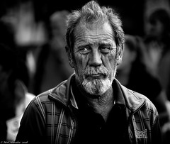 Everlasting sadness (Neil. Moralee) Tags: middevonshow2018neilmoralee neilmoralee man gentleman old mature neil moralee nikon bandw blackandwhite candid face photography contrast street photo portrait monochrome monotone mono bw urban black white life people gritty faces strangers d7200 moustache sorrow loss sadness widower alone beard mid devon show uk everlast