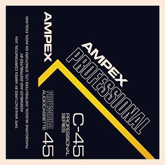 Cassettes: Ampex Professional C45 (Littlepixel™) Tags: sony cassette retro tape boombox music graphics dolby compact cd stereo ghetto blaster 70s 80s boom box musicassette d90 d60 basf tdk jvc maxell emi inlay ampex philips scotch seiko bosonic memorex pyral winfield pdmagnetics boots soundhog agfa mixtape 3m