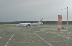 JAL Japan Airlines Boeing 787-8 Dreamliner JA842J Summer charter Basel EuroAirport webcam capture (AirportWebcams.net) Tags: jal japan airlines boeing 7878 dreamliner ja842j summer charter basel euroairport webcam capture bsl lfsb