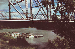 Redwood Bridge, 1960s (vintage.winnipeg) Tags: winnipeg manitoba canada history historic vintage bridges
