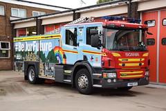 Humberside - YN18XYZ - Scunthorpe - WrT (matthewleggott) Tags: humberside fire rescue service engine appliance wrt yn18xyz water tender scunthorpe scania emergency one wrapped recruitment heforshe