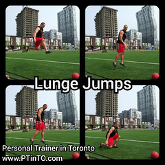 Lunge Jumps (personaltrainertoronto) Tags: boot camp hiit exercise workout bodybuilding athlete athletic fitness model fit kettlebell free weight bodyweight sexy muscles strong strength powerful track intensity interval abs legs glutes booty butt 6 pack sixpack