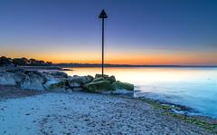 Flat Calm (nicklucas2) Tags: seascape beach groyne sea sand seaside solent