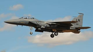 91-0316/LN F-15E EAGLE USAF