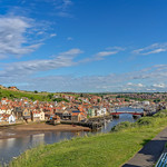 Panorama of Whitby harbour. thumbnail