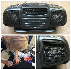 Judy Pielach, WGN Radio, Goodwill, The Good Buy Girl,  6/23/2018, Evanston, Ill., (Picture Proof Autographs) Tags: judypielach wgnradio goodwill thegoodbuygirl 6232018 evanston ill picture proof autographs photo signed signing autographed autograph
