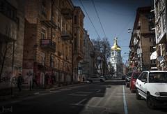 St Sophia's Cathedral, Kiev, Ukraine (KSAG Photography) Tags: kyiv kiev ukraine europe city history heritage architecture cathedral church religion street streetphotography urban nikon wideangle april 2018