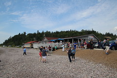 St. Martins Sea Caves (New Brunswick, Canada) - St. Martins and Bay of Fundy Express Excursion Pictures - (Adventure of the Seas - July 31st, 2018) (cseeman) Tags: adventureoftheseas royalcaribbean royalcaribbeansadventureoftheseas adventureoftheseasjuly27aug32018 adventurejuly272018 cruise newenglandandcanadacruise saintjohn canada newbrunswick newbrunswickcanada saintmartins stmartins caves tides bayoffundy water shore beaches lowtide seacaves stmartinsseacaves stmartinsnewbrunswick stmartinsandbayoffundyexpress stmartinsandbayoffundyexpressexcursion rocks clouds stonehammerunescoglobalgeopark unesco stonehammer geopark unescoglobalgeopark unescogeopark atlanticcanada atlanticcanada2018