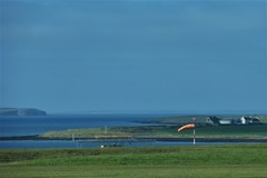 Taking our leave (Fraser P) Tags: scotland orkney islands kirkwall mainland airport windsock