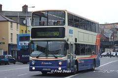 Dublin Bus AV360 (03D50360). (Fred Dean Jnr) Tags: dublin september2006 volvo b7tl dublinbus busathacliath croad transbus alx400 av360 03d50360 amiensstreetdublin dublinbusroute90 dublinbusbluecreamlivery railink