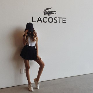 Madison Beer at Lacoste