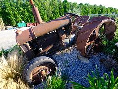 Tractor (cosbrandt) Tags: gfx50s gf23mm tractor fordson old farm machinery