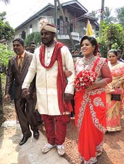 Couple (MelindaChan ^..^) Tags: srilanka 斯里蘭卡 people life culture chanmelmel mel melinda melindachan tradition wedding