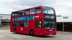 Decker Airport Express (londonbusexplorer) Tags: metroline west dennis trident adl enviro 400 te1744 sn09cfz a10 uxbridge heathrow central tfl london buses