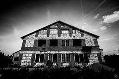 Old mill in black & white (damiencorrephoto) Tags: black white bnw monochrome blanc noir mill moulin old ancien dark sombre