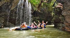 Santirah Waterfall (Explore Pangandaran) Tags: greensantirah santirah rivertubing pangandaran arungjeram rafting bodyrafting ciamis parigi selasari desaselasari jawabarat wisatasungai