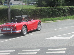 Just Caught It....... (Andrew 2.8i) Tags: car cars classic classics carspotting street spot spotting british sports sportscar open cabriolet convertible roadster tr tr4 tr4a triumph