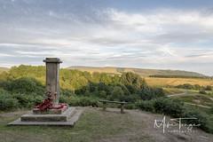Wellington Bomber Memorial. (miketonge) Tags: bomber crashsite 1942 wellington rivington pike winterhill leadminesclough anglezarke belmont memorial poppies wreath