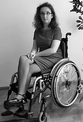 1979 Paraplegic (jackcast2015) Tags: handicapped disabledwoman crippledwoman wheelchair paraplegic paraplegicwoman