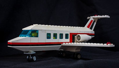 "Model# 6368 ""Jet Airliner"" (1985) (steviep187) Tags: lego canon eos xsi rebel dslr toy collection car vehicle figurine truck helicopter airplane jet white black red blue green orange yellow pink purple brown silver gray gold indoors 80s 90s 2000s 2018 people vintage mcdonalds happymeal toys plastic motorcycle rig house tractor boat jetski new old"