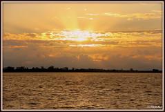 L'orage monte..... la nuit sera mouvementée !!! (Les photos de LN) Tags: sunset coucherdesoleil nuages orage lumière couleurs estuairedelagironde fleuve aquitaine ciel rayonnement paysage nature été soir