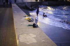 Spetses-3041 (PanosKa) Tags: streetphotography promenade oldport sea eveningsky bokeh kids swimming beach spetses village