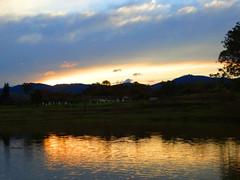 Reflections (Arlete M) Tags: sunset pôrdosol reflections tremembésp brasil brazil nature goldenmoment serenity silence silêncio