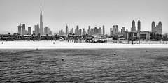 Dubai Skyline (Joao Eduardo Figueiredo) Tags: dubai skyline burj khalifa burjkhalifa united arab emirates unitedarabemirates uae nikon nikond850 joaofigueiredo joaoeduardofigueiredo skyscraper buildings architecture beach sea water