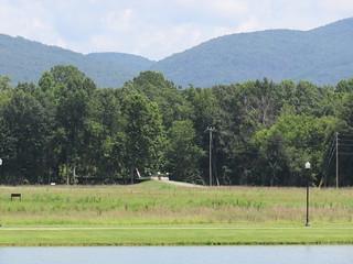 Alabama Mountain Scene---Able Mall, Al.