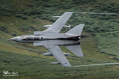 RAF Tornado GR4 ZA554 low level at Buttermere (NDSD) Tags: low level panavia tornado gr4 buttermere crummock water west lakes cumbria flying jet raf lake district plane aviation aircraft
