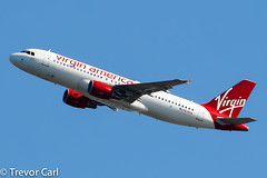 Virgin America | N638VA | Airbus A320-214 | JFK | KJFK (Trevor Carl) Tags: a320214 aviation airbus avgeeks photo 3503 aircraft airplane alltypesoftransport jfk kjfk n638va newyork newyorkcity newyorkjohnfkennedy plane transport unitedstatesofamerica virginamerica airlinersnet