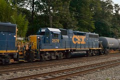 CSX 2576 (Dan A. Davis) Tags: csx freighttrain locomotive train gp382 c970 woodbourne langhorne pa pennsylvania