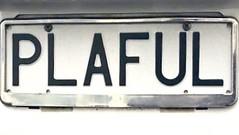 PLAFUL (Lee Bennett) Tags: tag vanity custom plate license