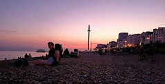 (mariapomares93) Tags: brighton sunset seafront colours sky pink england summer
