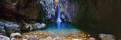 El Questro Gorge Water Fall (McDermott Images) Tags: thekimberley el questro station elquestrogorge water fall rocks westernaustralia kodak e100vs fuji g617 waterfall