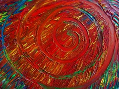 Oil Painting (Hannelore_B) Tags: macro abstrakt abstract spirale spiral macrofriday oilpainting