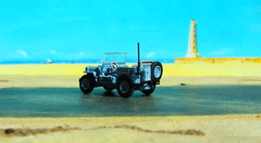 1:76 Scale Diecast Model Wills Jeep US Navy Seabees By Oxford Diecast Limited Swansea Wales United Kingdom 2017 : Diorama The Beach - 7 Of 13 (Kelvin64) Tags: 176 scale diecast model wills jeep us navy seabees by oxford limited swansea wales united kingdom 2017 diorama the beach