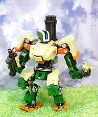 N̶O̶T̶-̶B̶a̶s̶t̶i̶o̶n̶ / DX9 K1 Freeman transformable robot. (hongzhizhu) Tags: overwatch unlicensedoverwatchmerchandise dx9 k1freeman robot bastion