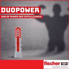 Fischer DUOPOWER (Fischer India) Tags: fixings fischer fasteners chemical construction mechanical anchors engineering building