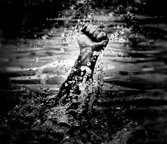 Rising Again (JDS Fine Art Photography) Tags: monochrome bw dramatic cinematic strength determination struggle breakingfree breakingbarriers hope humanstrength