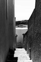 Street of Pyrgos (•Nicolas•) Tags: grèce greece holidays ile island m9 santorini vacances pyrgos street rue grèce nicolasthomas bw