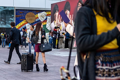 False Advertising (burnt dirt) Tags: asian japan tokyo shibuya station streetphotography documentary candid portrait fujifilm xt1 laugh smile cute sexy latina young girl woman japanese korean thai dress skirt shorts jeans jacket leather pants boots heels stilettos bra stockings tights yogapants leggings couple lovers friends longhair shorthair ponytail cellphone glasses sunglasses blonde brunette redhead tattoo model train bus busstation metro city town downtown sidewalk pretty beautiful selfie fashion pregnant sweater people person costume cosplay boobs
